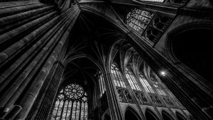 The haunting beauty of Gothic interiors