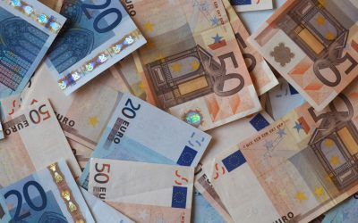 The architectual history of Europe through the Euro currency