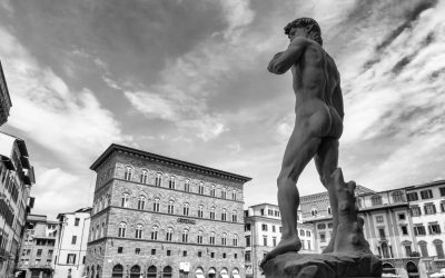 How did Michelangelo's David become political?